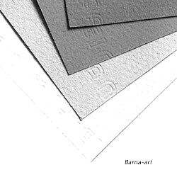 papel canson gris retrato carboncillo