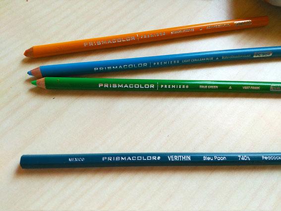 lápices de color Prismacolor