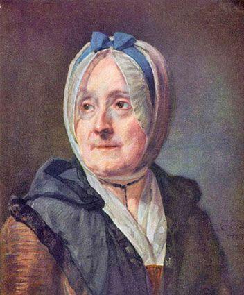Retrato a pastel de la madre de Chardin