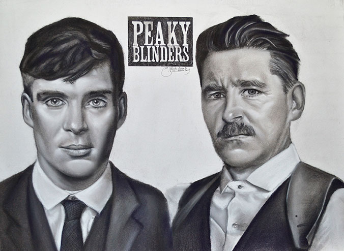 Peaky Blinders a carboncillo