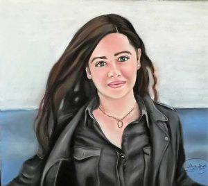 Retrato por encargo de jovencita