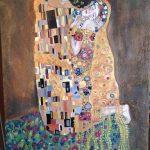 Encargo de réplica de El Beso pintado a óleo