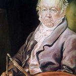 ´Réplica pintada a óleo retrato de Goya