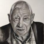 Encargo de retrato a carboncillo de José Meliz Meliz en BIELSA