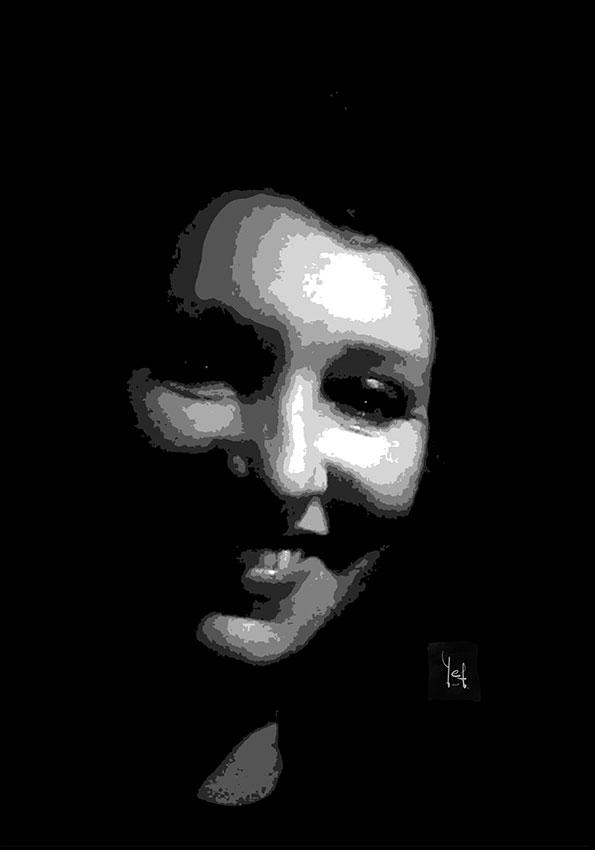 Retrato digital personalizado